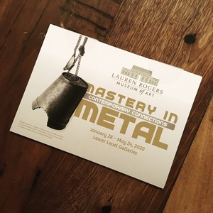 Master Metalsmith exhibition at Laurel Rogers Museum